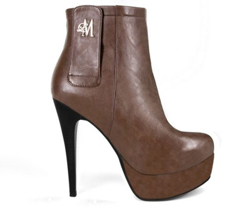brown stiletto boots from Llynda More